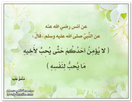 حديث 13 لا يؤمن أحدكم حتى يحب لأخيه ما يحب لنفسه اذاعة القرآن الكريم من نابلس فلسطين